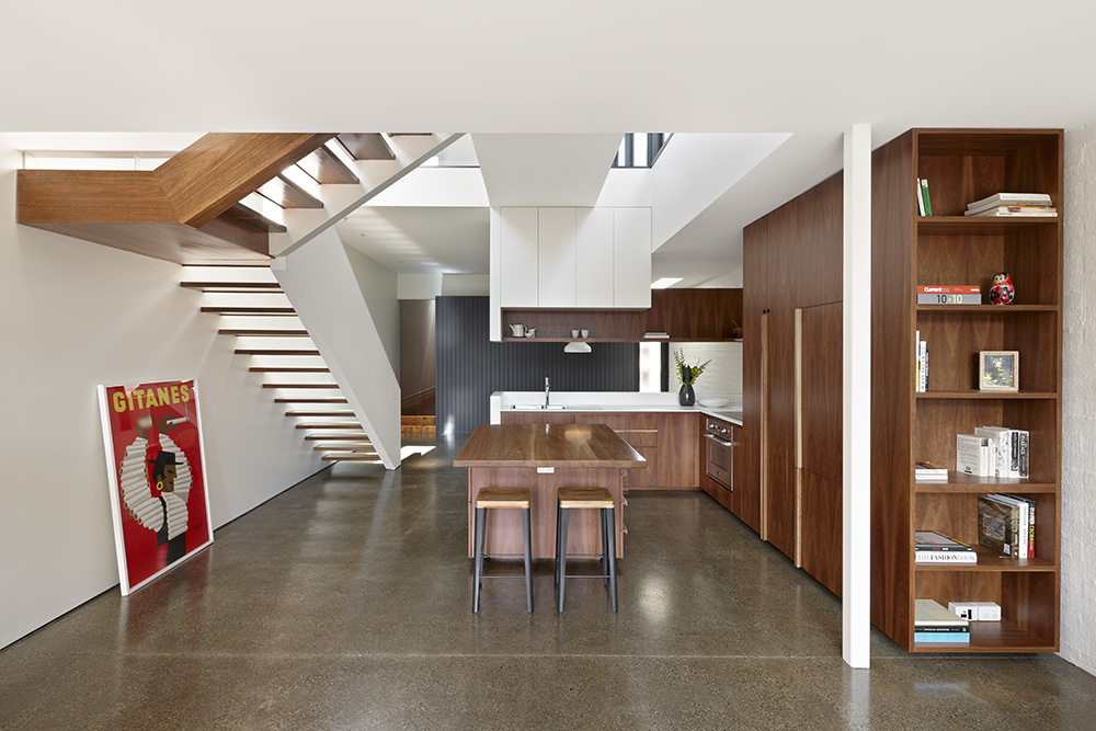 North Fitzroy House. Kitchen / Dining
