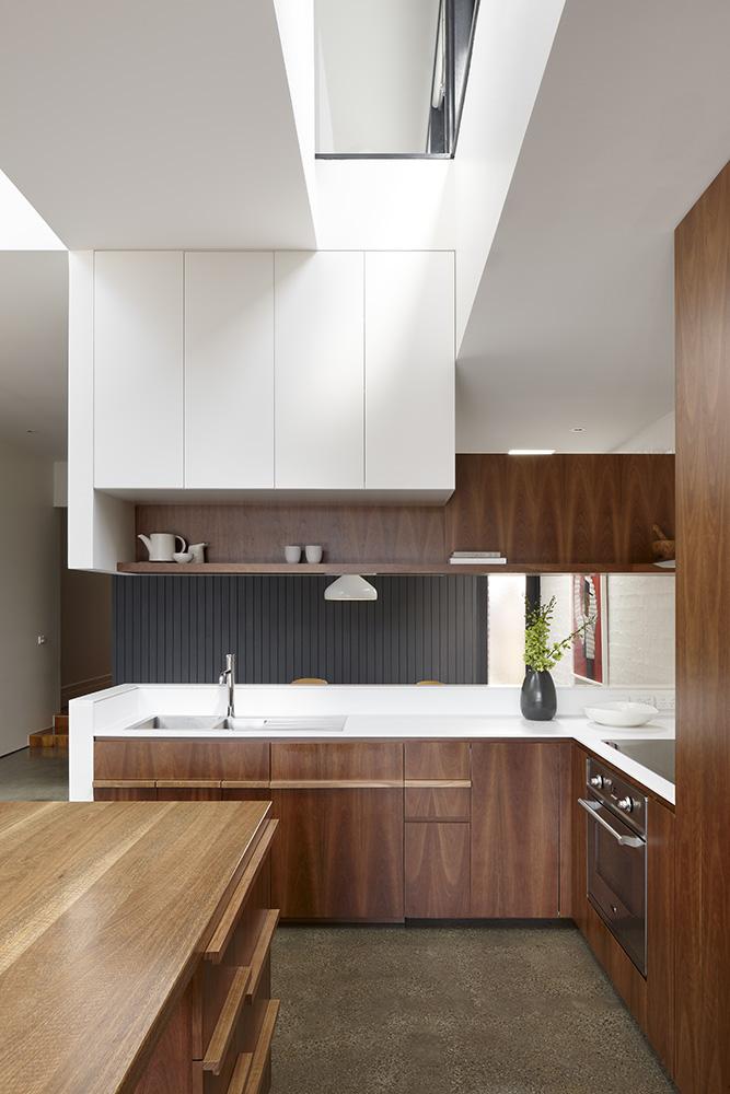 North Fitzroy House. Kitchen
