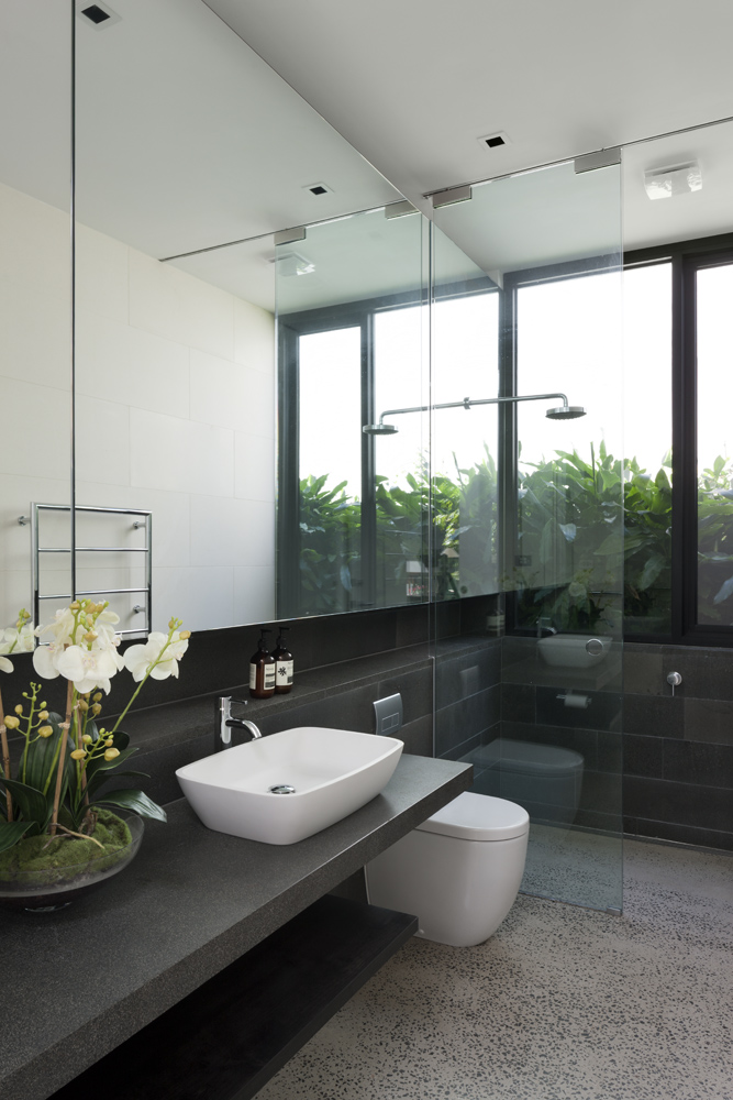 Toorak House. Bathroom