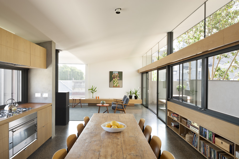 South Yarra Apartments. Kitchen & Dining