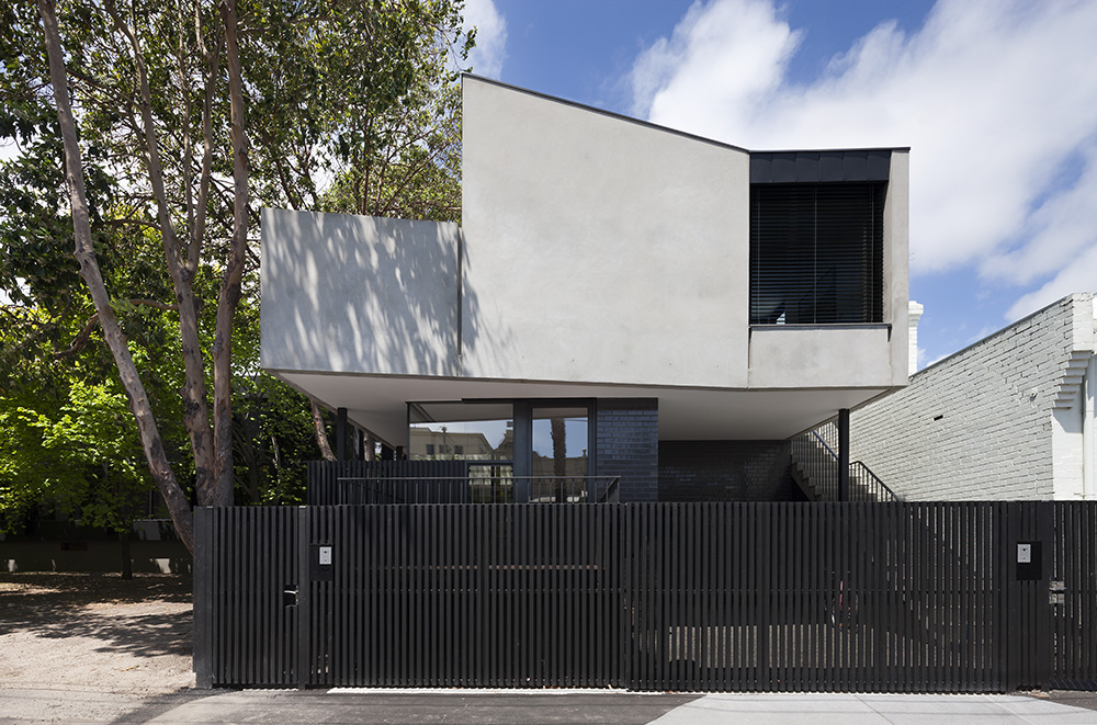 South Yarra Apartment. Streetscape