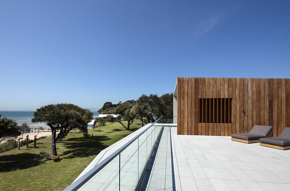 Sorrento Beach House. Terrace