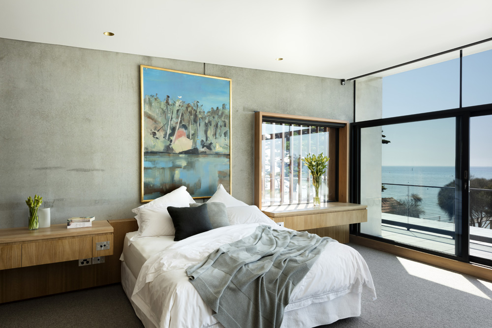 Sorrento Beach House. Bedroom