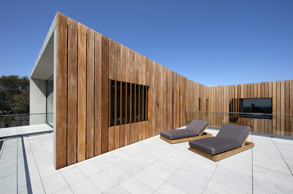 Sorrento Beach House. Terrace