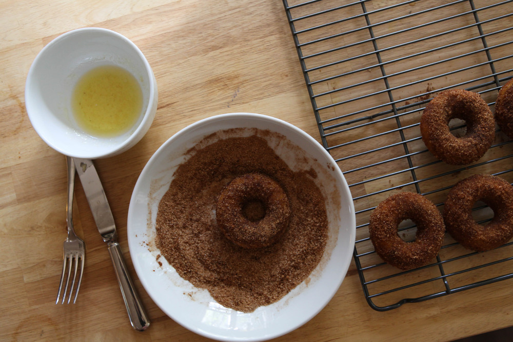 Spicy Pumpkin Donuts