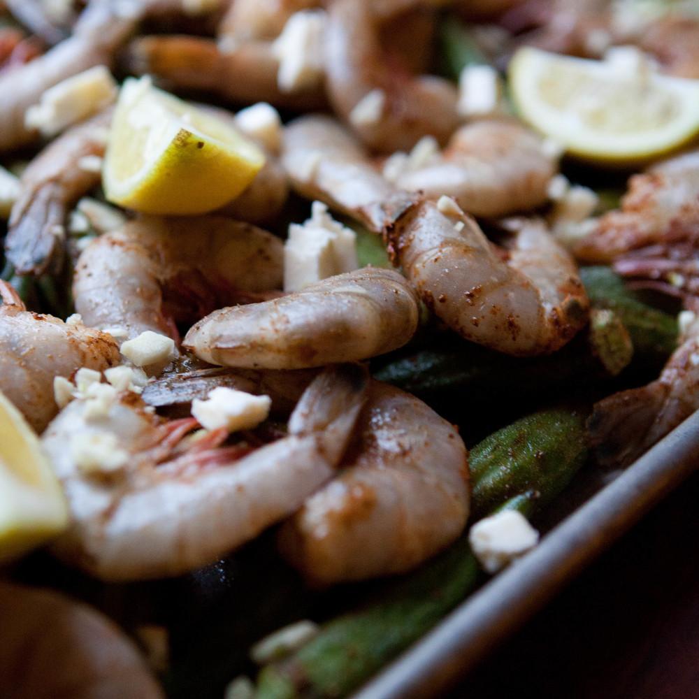 Shrimp and Okra