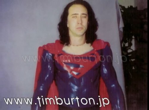 Nick Cage wardrobe test.