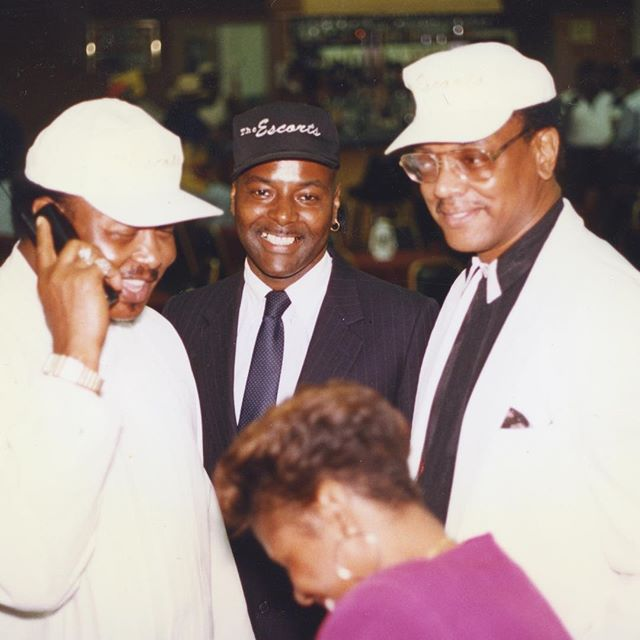 countless hits and years later, under the leadership of Reginald Prophet Haynes, the group would gain Bill Martin and La'Grant Harris to re-emerge as THE LEGENDARY ESCORTS