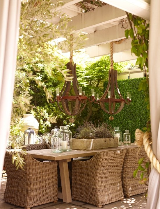 More porch love providence design for Beautiful garden rooms