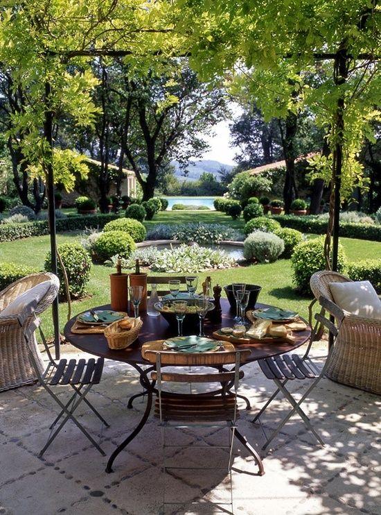 Designer Francois Catrox's garden...Photo Tim Clinch