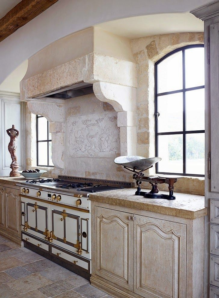 Blog providence design for French chateau kitchen designs