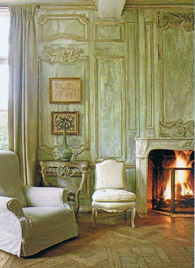 Image Via  Trouvais French Interiors  ... Nest Déco Spécial magazine - Belgian Villa Rozenhout