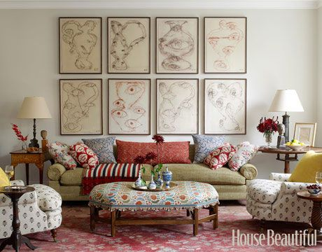 Line Abstracts : Image Via DANIEL SACHS Interiors