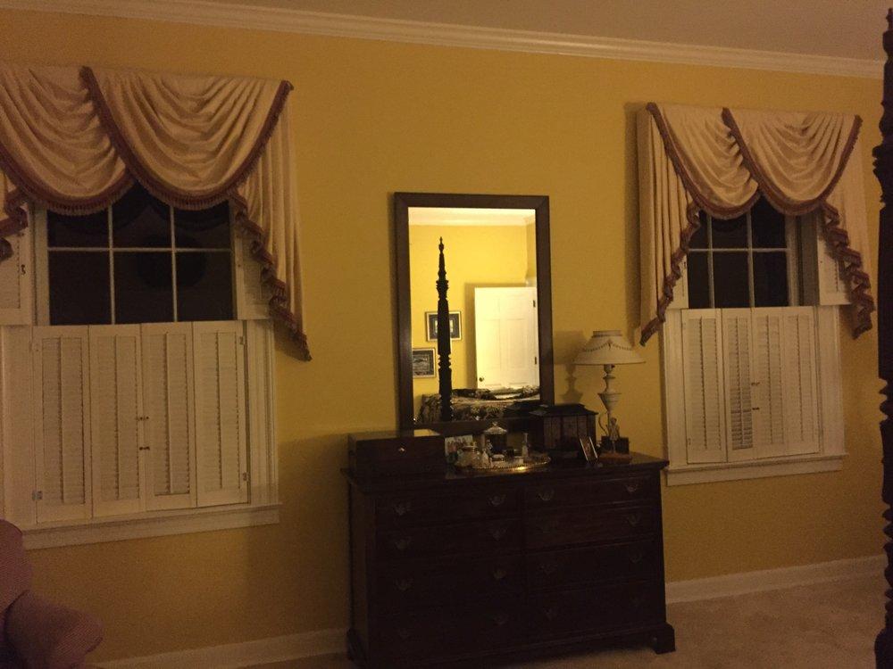 Master Bedroom Dresser Wall- Before