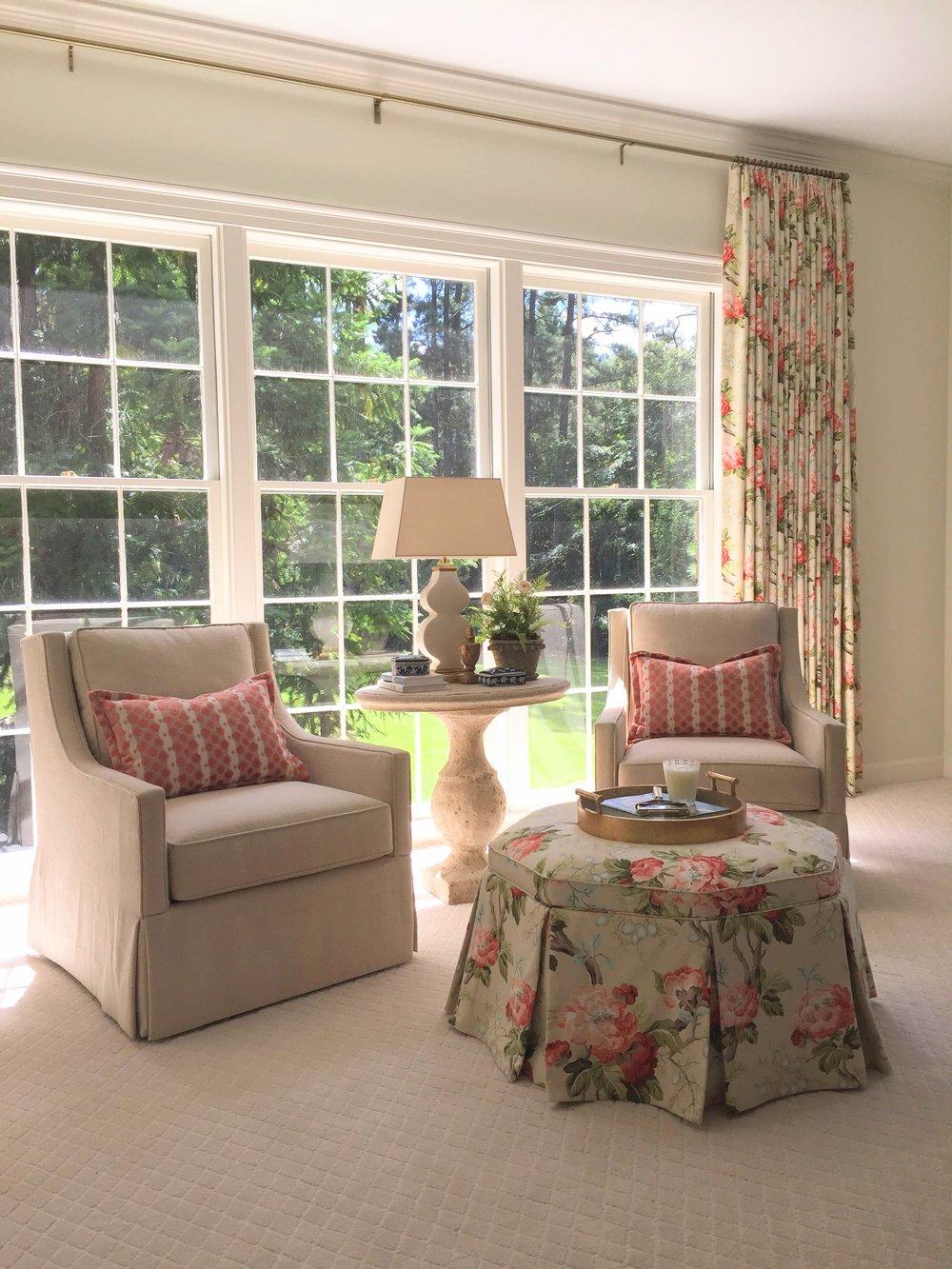 Master Bedroom Sitting Area - After
