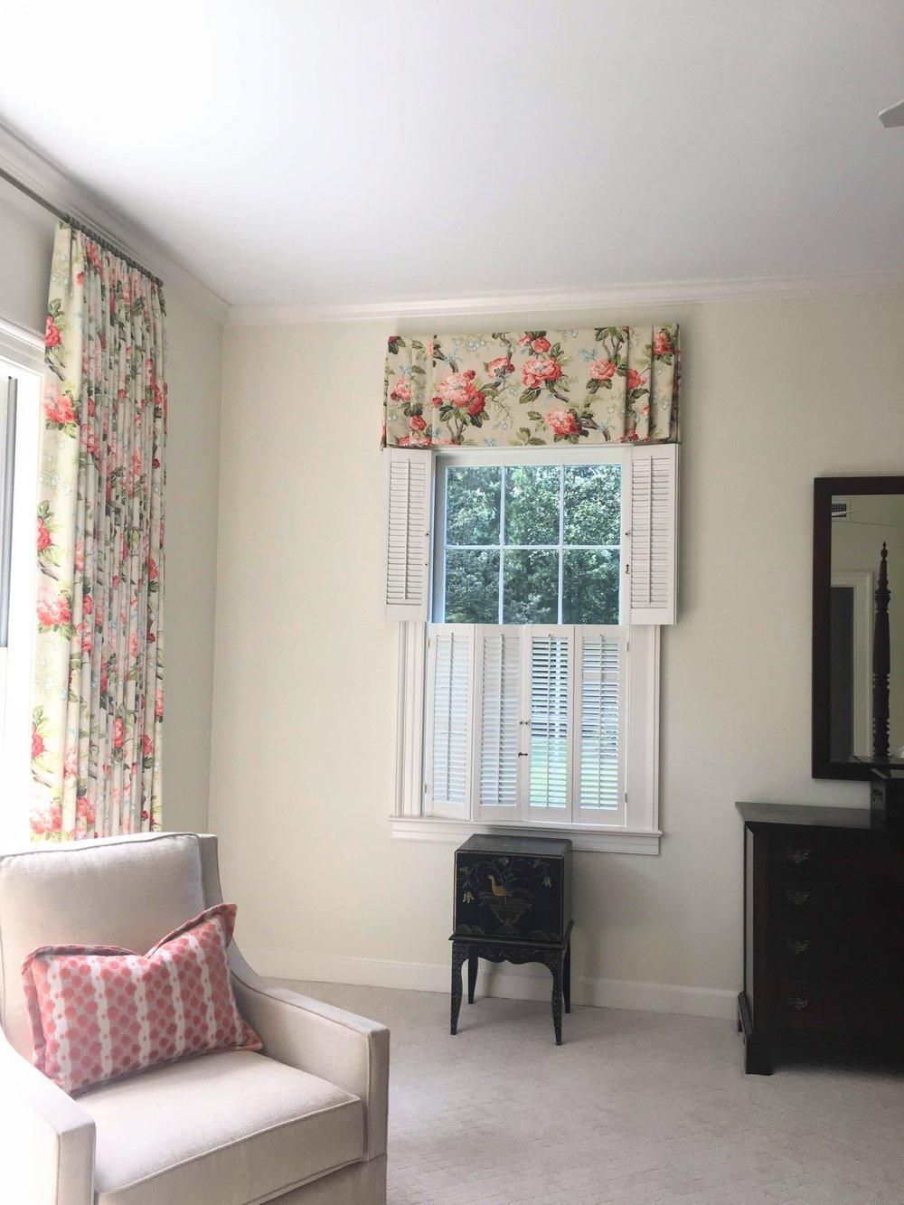 Master Bedroom Dresser wall - After