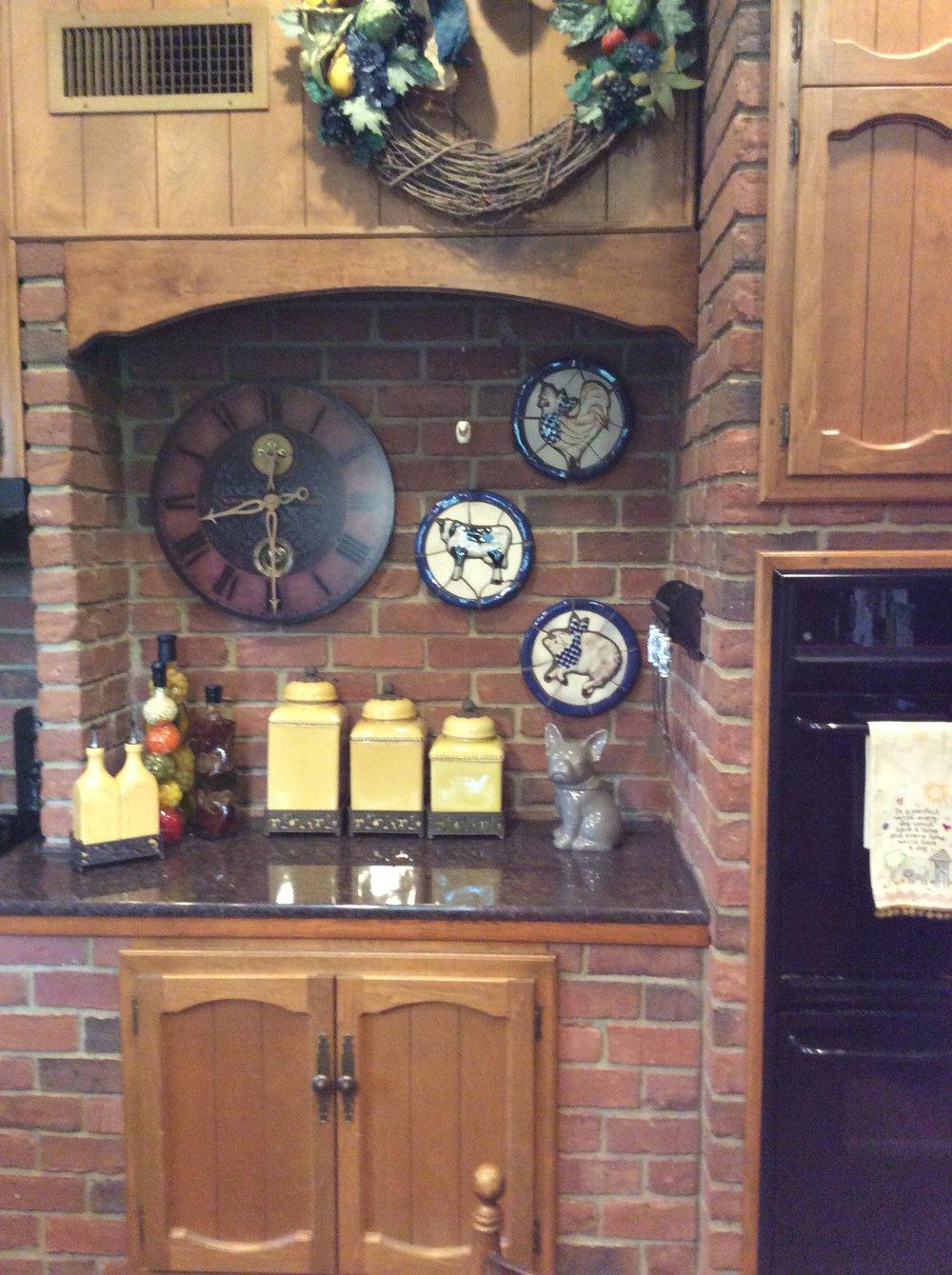 Kitchen Range - Before
