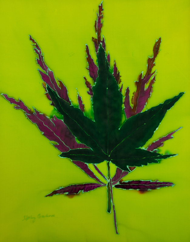 "Japanese Maple II  2008, 18""x23""  $480"