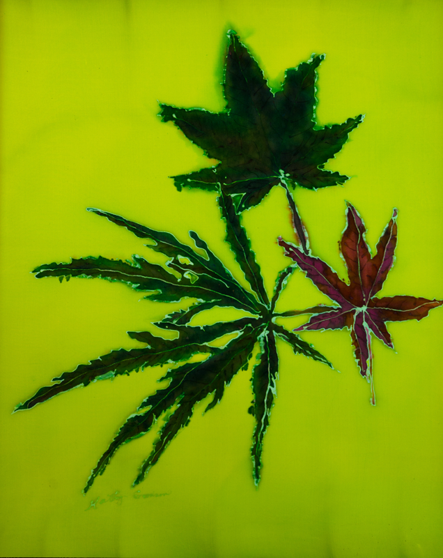"Japanese Maple I  2008, 18""x23""  $480"