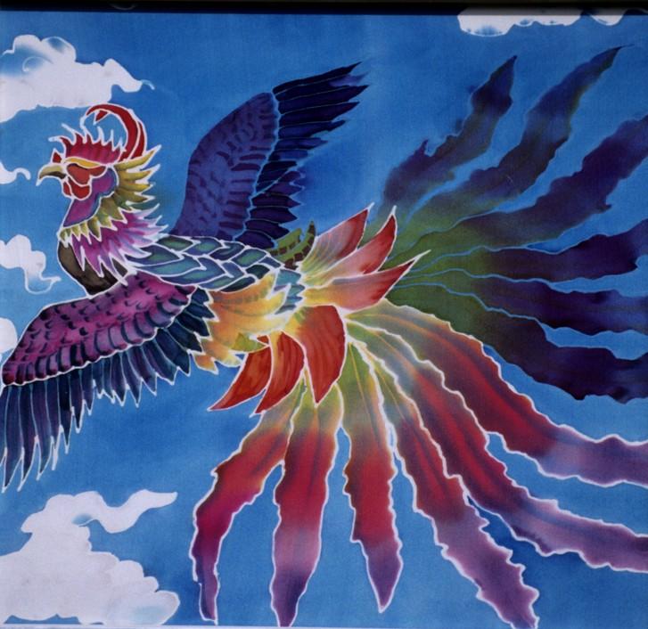 """Firebird  1998, 20.5""""x19.5""""  $550"""