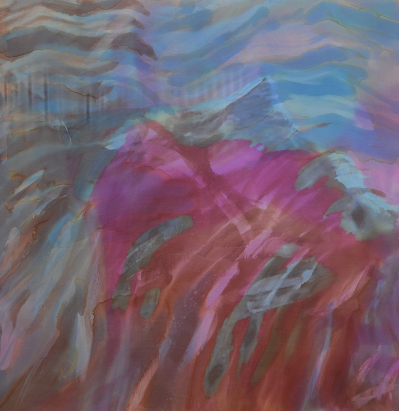 """Going with the Flow    2016, 30""""X 30""""    $720"""