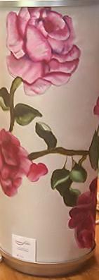 Pink Roses Lamp  $140