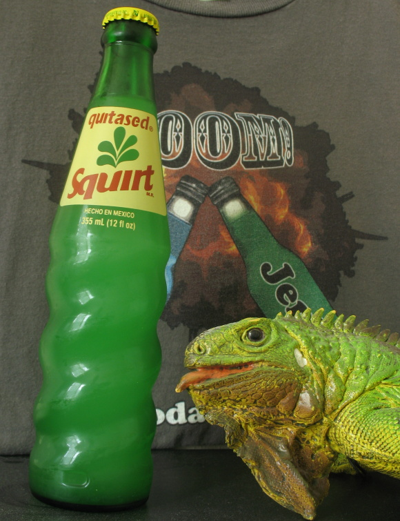 Twist later married this bottle of Squirt.  Shortly thereafter a murder investigation began as the bottle had been drained of all life.