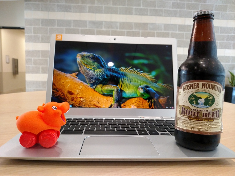 For the love of Soda, someone tell me where to get a tiny iguana so I can get ride of the overly cheerful hippo.