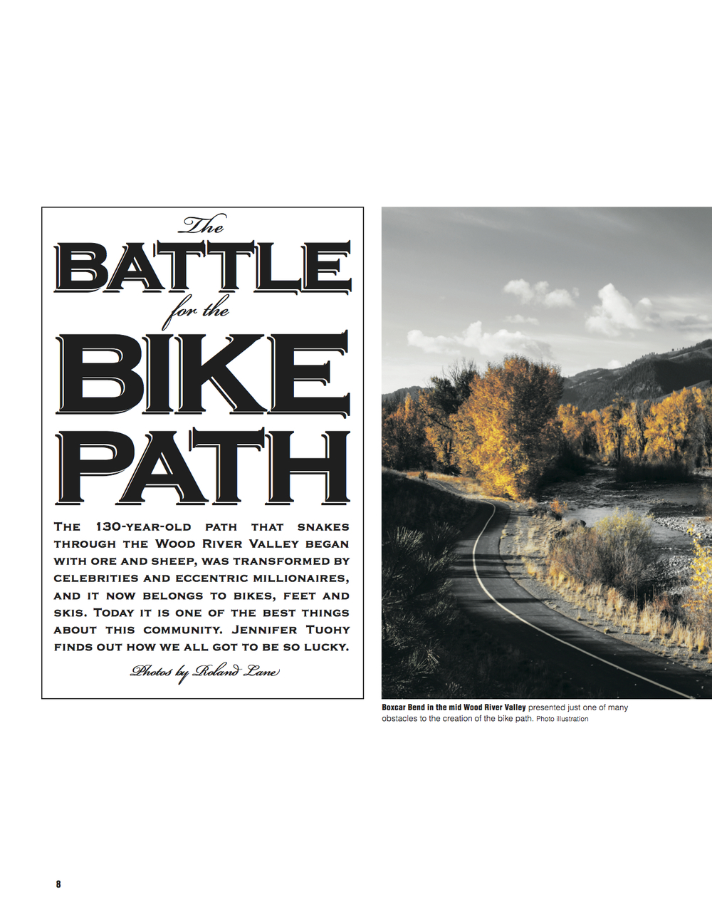 The Battle For The Bike Path
