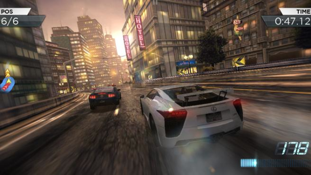 Need for Speed: Most Wanted from EA.