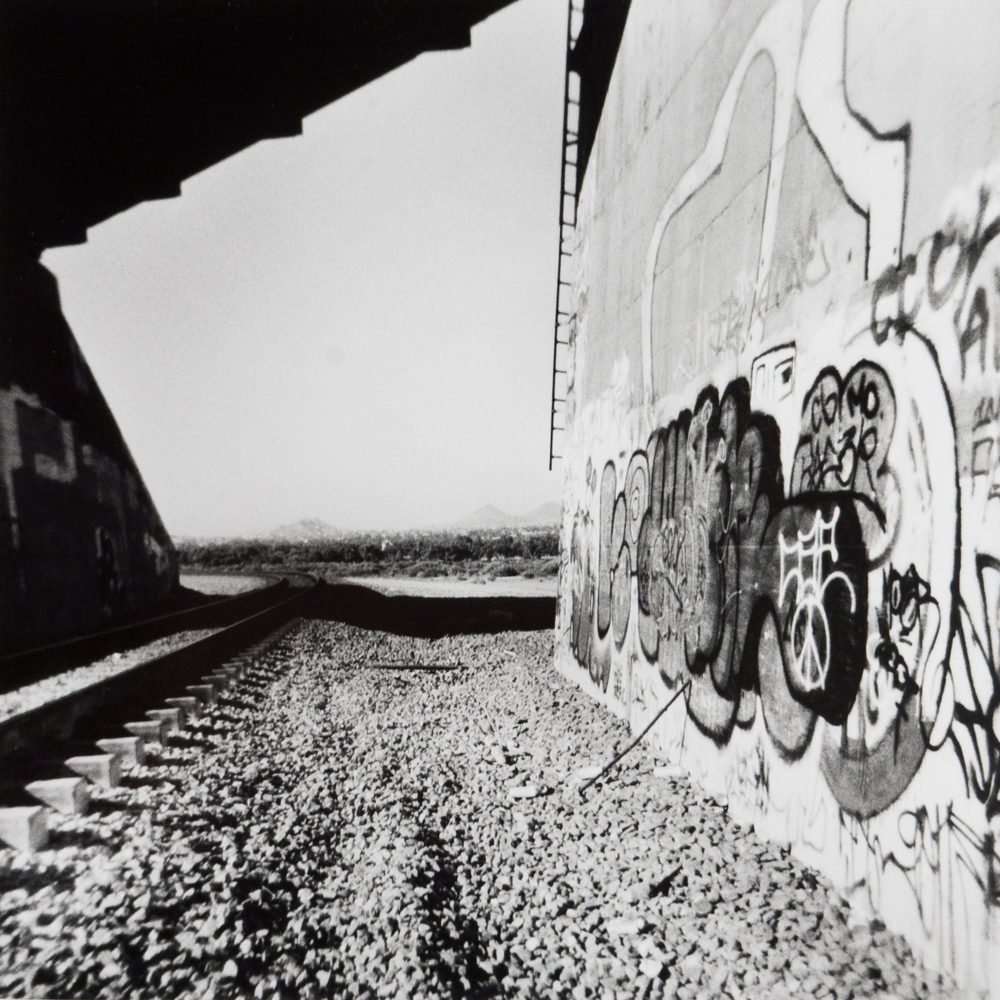 Untitled (Railroad Graffitti), 2008