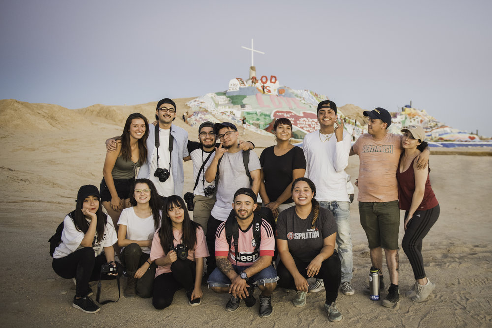 Fieldtrip- Salvation Mountain