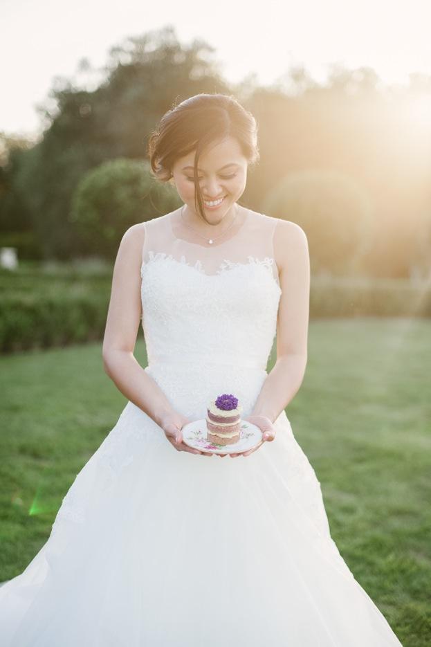 Bridal makeup in Napa, CA