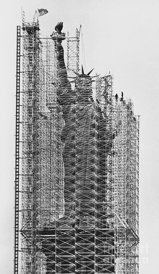 The structure needed to realize the vision for Lady Liberty