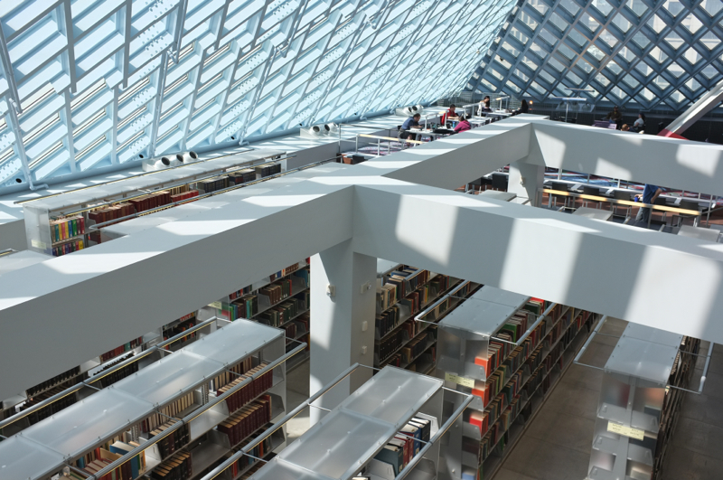 Seattle Central Library Minimally Minimal