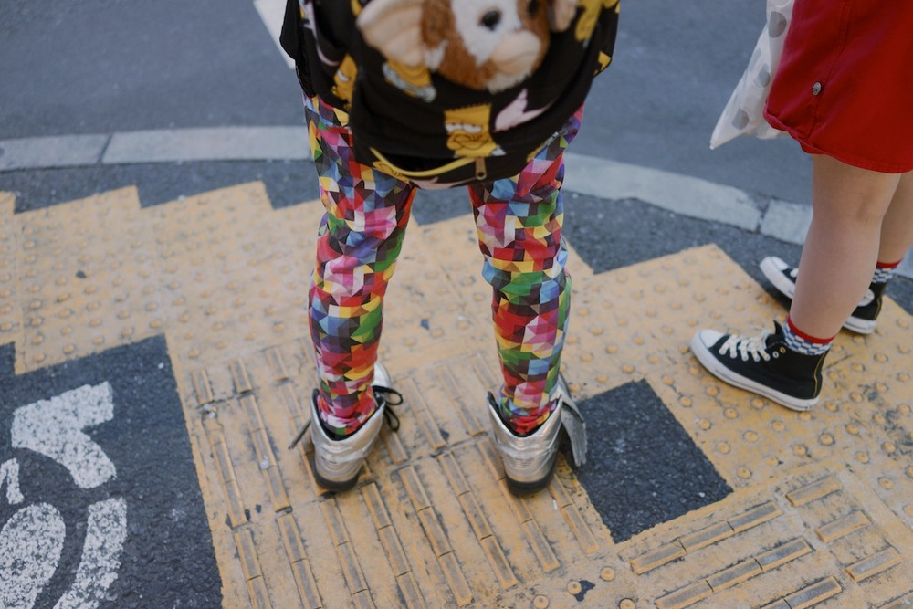 People of Harajuku have the strangest fashion.