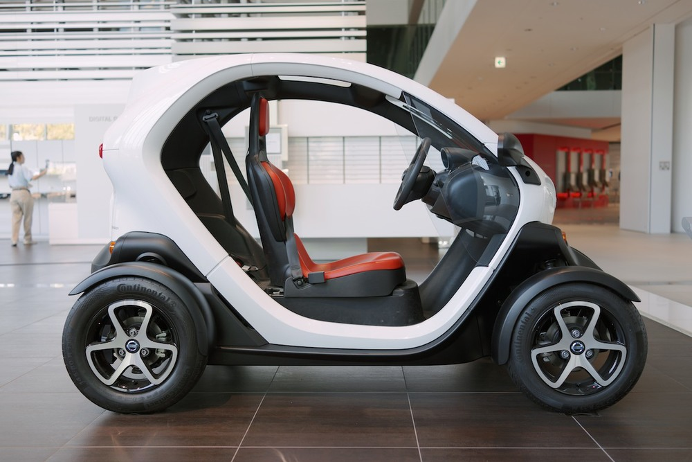 A rebranded Renault Twizy.