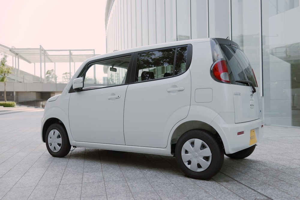 "A ""kei car"" is a class of light vehicles restricted in size by government regulations."