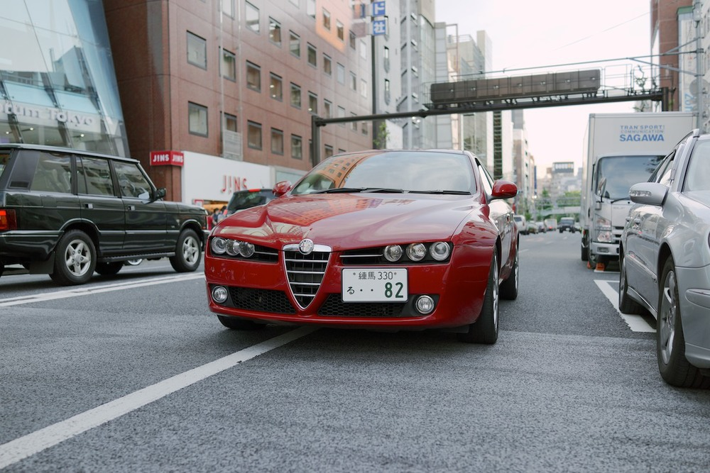 Alfa Romeos seem to be quite common.