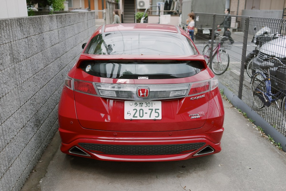 Euro spec Civic spotted in Kichijōji.