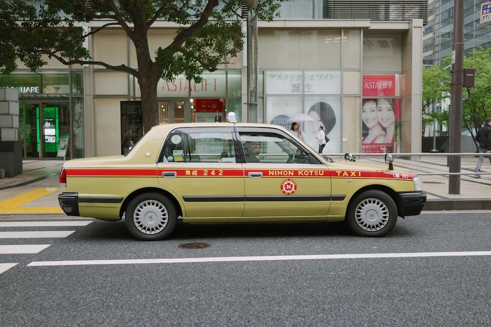 Most Japanese taxis are Toyota Crowns. Other than the NYC cabs, nothing is more iconic than these.