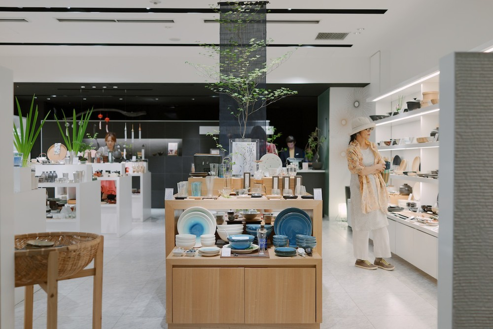 Tableware store at Omotesando Hills.