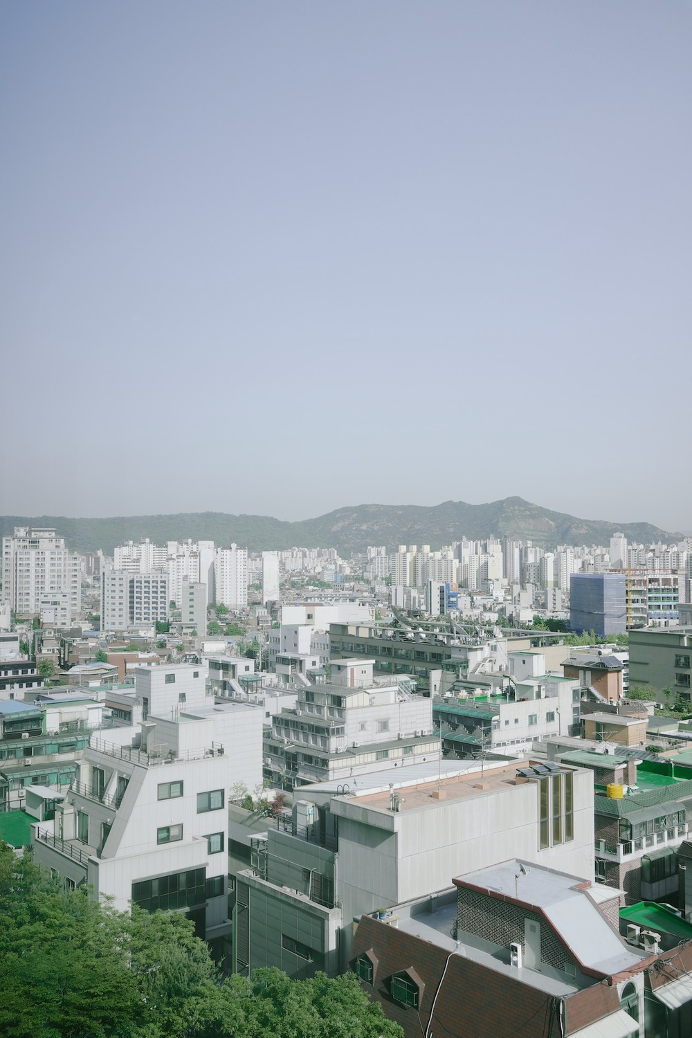 Seoul, Korea - outdoor natural light