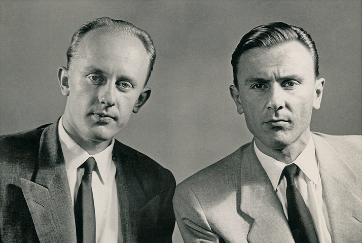 Artur and Erwin Braun  |  1950  |  © Braun