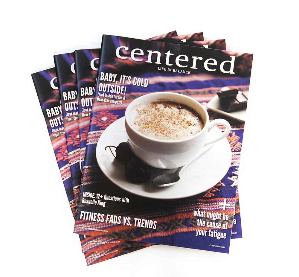 Centered Magazine: Art Direction, Identity and editorial design, photography