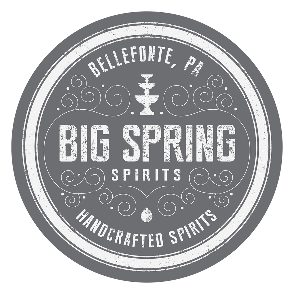 Design of primary mark for Big Spring Spirits