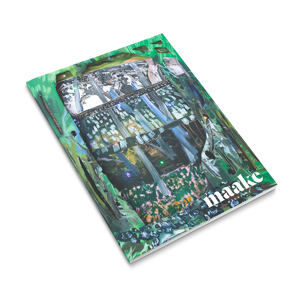 Maake Magazine: Issue One design