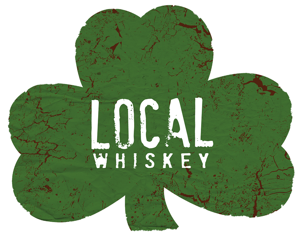 Local Whiskey: Design of primary mark