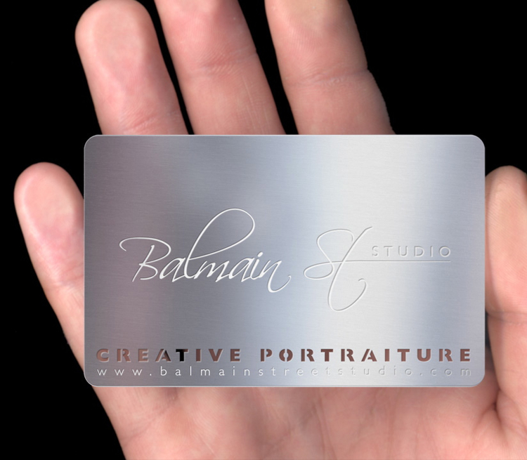 These are my new cool metal business cards from httpwww proof2frontg colourmoves