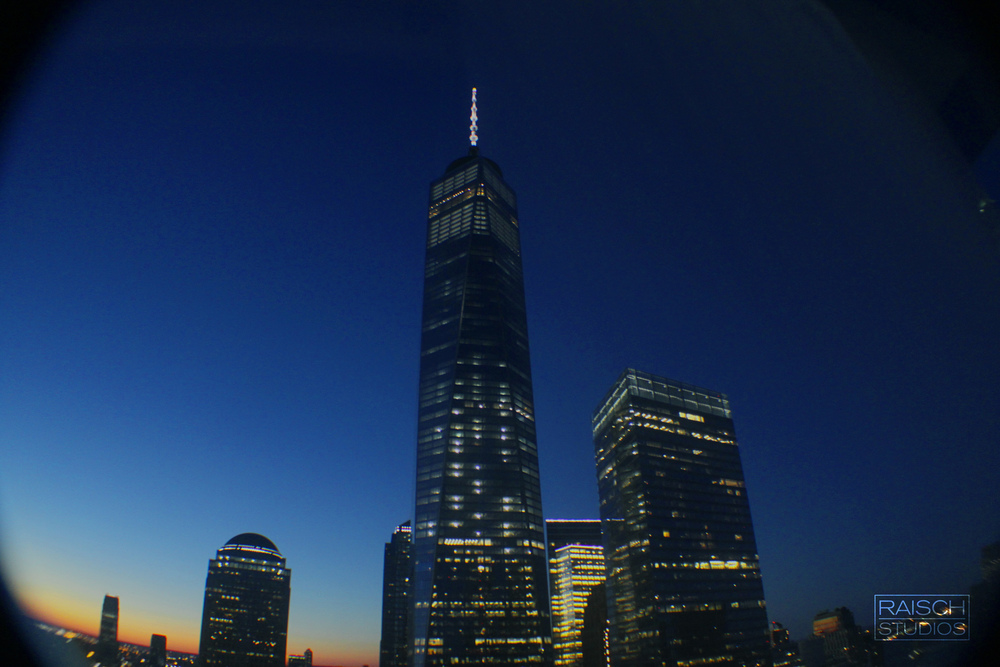 The completed One World Trade Center photographed on January 31, 2015 © Raisch Studios